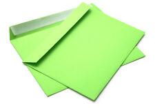 25/50/100/500  Briefumschlag C5 grün 162 x 229mm haftklebend (308A)