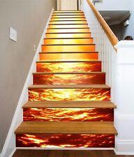 3D Sun Waves 537 Risers Decoration Photo Mural Vinyl Decal Wallpaper CA
