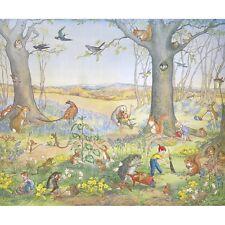 Woodland Gardeners - Molly Brett Medici Print