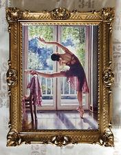 Bailarina Cuadro reproducción OBRAS DE ARTE von rajco 90x70 cm