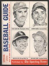 1973 SPORTING NEWS  Official Baseball Guide