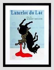 VINTAGE FILM MOVIE AD LANCELOT DU LAC FILM ROBERT BRESSON ART PRINT B12X11638
