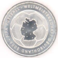 """Deutschland 10 Euro Gedenkmünze 2003 bfr """"Fussball"""" (ADFGJ) -Prägestätte wählen"""