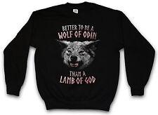 WOLF OF ODIN SWEATSHIRT PULLOVER SWEATER Wolves Geri and Freki Thor Walhalla
