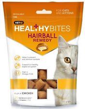 Mark & Chappel Health Bites - Hairball Remedy Treats for Cats & Kittens - 65g