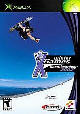 Xbox ESPN Winter X-Games Snowboarding 2 VideoGames