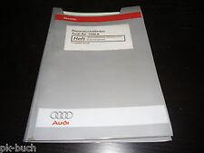 Werkstatthandbuch Audi A6 C5 Automatisches Getriebe 01V Eigendiagnose 03/1998
