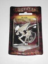 DUKE ICE FALCON!!  Ral Partha Crucible Miniature 91-420!!  New+Sealed!!