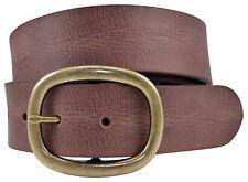 Vintage Full Grain Buffalo Leather Belt - Brown - TBS4115-200