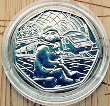 2018 estación de Paddington Bear en Uncirculated 50P moneda peniques oficial Royal Mint