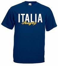 T-shirt Maglietta J1660 Italia Rugby Sei Nazioni Maglia Nazionale Terzo Tempo