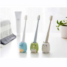 Mini Cartoon Style Ceramic Home Bathroom Product Toothbrush Storage Rack  JO