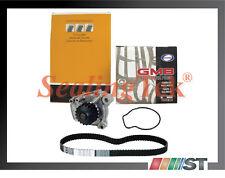 Fit 92-95 Honda D16Z6 1.6L SOHC 16V VTEC Engine Timing Belt + Water Pump Kit set