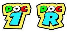 Valentino Rossi DOC 1 & DOC R Decals Stickers MotoGP 11