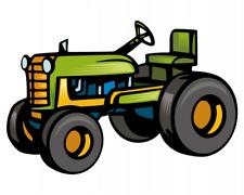 Alter Trecker Traktor Aufkleber Sticker Autoaufkleber Scheibenaufkleber