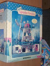 VINTAGE 1989 TOMY ORIGINAL SYLVANIAN FAMILIES WINDMILL HOUSE MIB #3177