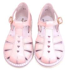 DE OSU 8064 - Toddler Girls' Pink Leather European Fisherman Sandals - Size 4-10