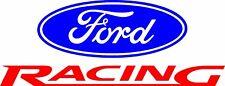 FORD RACING Mustang/Explorer Blue & Red Vinyl Decal Sticker Car Truck Window