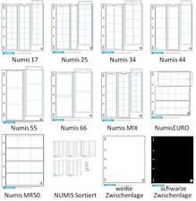 Leuchtturm Numis Münzhüllen 5er-Pack aussuchen 17 25 34 44 55 66 MIX KMS K50