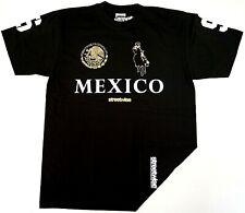 STREETWISE NARCO POLO T-shirt Urban Streetwear Tee Mens Black NWT
