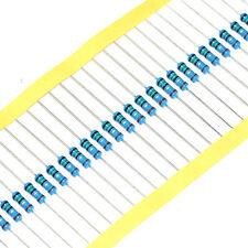 Free Shipping 1/2W 0.5W Metal Film Resistor ±1% 0.1 Ohm - 10M Ohm High quality