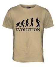 Air Guitar Evolution Of Man Parte Superior el Hombre Camiseta Tee