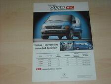 35238) Mercedes Vito CDI Polen Prospekt 199?