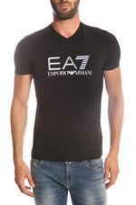 T-shirt Maglietta Emporio Armani EA7 Sweatshirt % Uomo Nero 2739116P206-20 SALDI