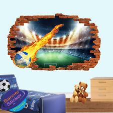 SCOZIA Calcio Fiamme Stadium stanza ufficio Vivaio Adesivi Da Parete ARTE Murale XW7
