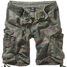BRANDIT Bermuda Pantaloncini uomo militare tasconi Vintage Classic Shorts Woodl