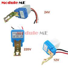 AC DC 12V 24V 220V 10A Auto On Off Photocell Street Light Sensor Switch UK