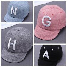 fd109396e2e0e Toddler Kids Baby Boys Girls Baseball Cap Embroidery Cotton Snapback Sun Hat  US
