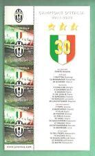 TRITTICO NUOVO SAN MARINO Juventus CAMPIONE D'ITALIA 2012 APPENDICE 3° STELLA
