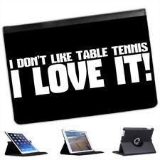 No me gustan tenis de mesa.. me encanta! Funda de Cuero para iPad Mini y Retina
