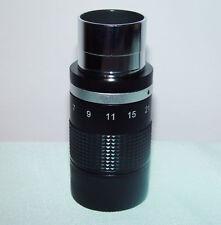 """Di alta qualità 1.25"""" 7-21 mm Zoom Oculare per telescopio, Nuovo Di Zecca in Scatola"""