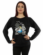 Disney Women's Alice In Wonderland Flowers Sweatshirt