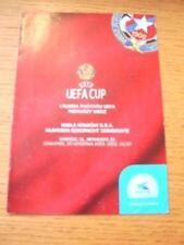 25/09/2003 Wisla Krakow v NEC Nijmegen [UEFA Cup] . No