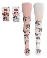 Minnie Mouse~DISNEY~Strumpfhose~92/98~104/110~116/122~Maus~Mädchen~weiss~rosa