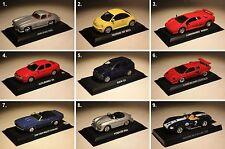 del Prado-VW-Lamborghini-Maserati-Mercedes-BMW-Porsche-Alfa Romeo-Chevrolet-1:43