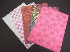 5 feuilles 1-SIDED A4 à motif Support Papier 120 g/m² , scrapbooking &