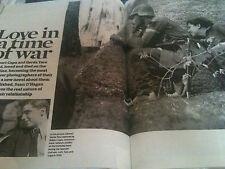 New Observer Magazine: ROBERT CAPA GERDA TARA CAROLE CAPLIN