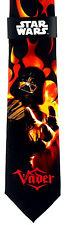 Star Wars Darth Vader Mens Necktie Sci Fi Black Neck Tie Lucas Film Movie New
