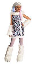 Monster High Kinderkostüm Abbey Bominable Kostüm Perücke Karneval Fasching , (K)