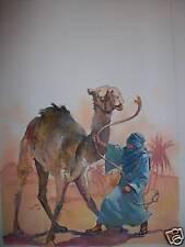 Original Sanjulian,Published art Arabian Nights