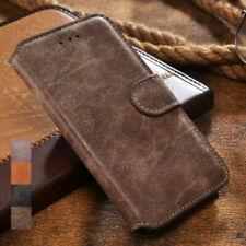 Samsung Galaxy S9 Plus Hülle Handy Tasche Kunstleder Flip Case Schwarz und Braun