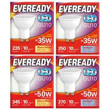 2/5x 3w 5w Eveready Led GU10 Cálido / Luz Natural Sustituto de 35w 50w Foco