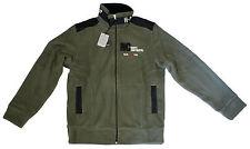 OUTING ITALY sweatshirt-jacket green man felpa-giacca uomo verde S-M cod. 0910 _