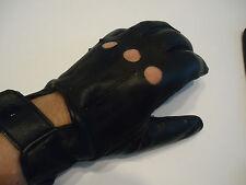 Men's Rolls Racer Mercedes Leather Driving Gloves