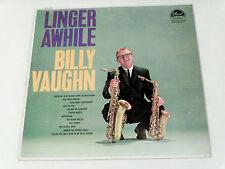"BILLY VAUGHN*LINGER AWHILE*DOT MONO 1960*12""33 RPM LP*BIG BAND*POP SEE INFO"
