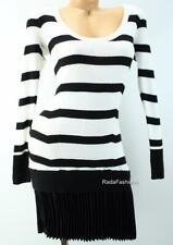 Victoria's Secret VS Drop Waist Peplum Pleat Dress Kiss of Cashmere Sweaterdress